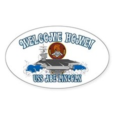 Welcome USS Lincoln! Decal