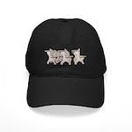 Student Desk Rows Black Cap