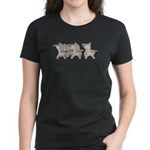 Student Desk Rows Women's Dark T-Shirt