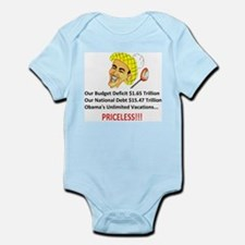 PRICELESS Anti Obama Infant Bodysuit