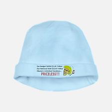 PRICELESS Anti Obama baby hat