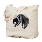Silver Fortune Cookie Tote Bag