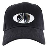 Silver Fortune Cookie Black Cap