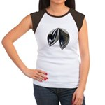 Silver Fortune Cookie Women's Cap Sleeve T-Shirt