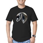 Silver Fortune Cookie Men's Fitted T-Shirt (dark)