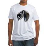 Silver Fortune Cookie Fitted T-Shirt