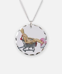 Shopping Online Bunny Slipper Necklace