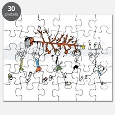 Christmas Runners Puzzle