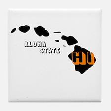 HI ALOHA STATE Tile Coaster