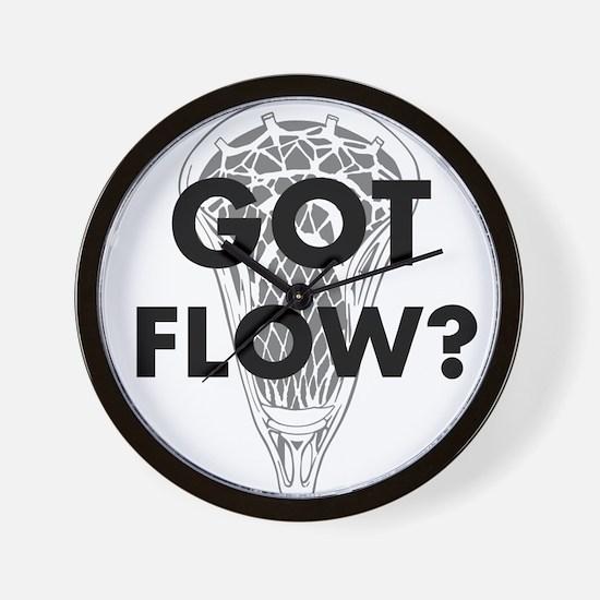 Got Flow? Wall Clock