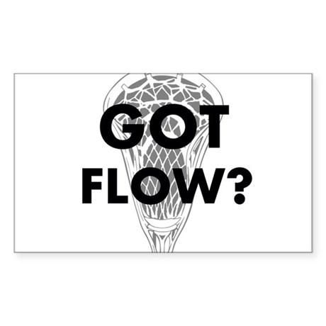 Got Flow? Sticker (Rectangle)