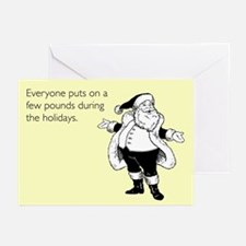 Holiday Pounds Greeting Cards (Pk of 10)