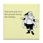 Holiday Pounds Tile Coaster