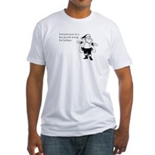 Holiday Pounds Fitted T-Shirt