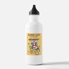 Sand Cat (Felis Margaritas) Sports Water Bottle