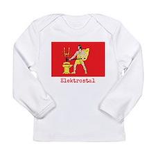 Elektrostal Flag (lettering) Long Sleeve Infant T-