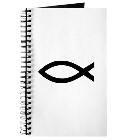 Christian jesus fish Journal