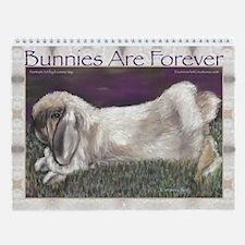 Rabbit Art by Evonne Vey Wall Calendar