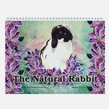 The Natural Rabbit Wall Calendar