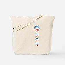Cute Barack obama campaign Tote Bag