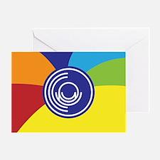 Occupy Wall Street Flag Greeting Card