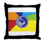 Occupy Wall Street Flag Throw Pillow