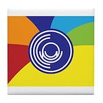 Occupy Wall Street Flag Tile Coaster