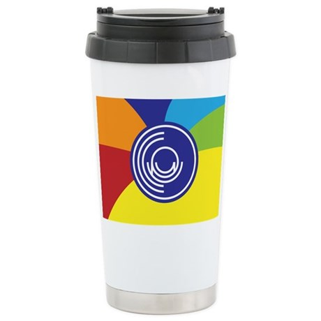 Occupy Wall Street Flag Stainless Steel Travel Mug