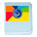 Occupy Wall Street Flag baby blanket