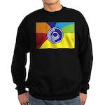 Occupy Wall Street Flag Sweatshirt (dark)