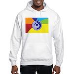 Occupy Wall Street Flag Hooded Sweatshirt