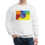 Occupy Wall Street Flag Sweatshirt