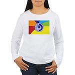 Occupy Wall Street Flag Women's Long Sleeve T-Shir