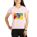 Occupy Wall Street Flag Performance Dry T-Shirt