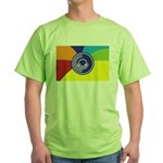 Occupy Wall Street Flag Green T-Shirt
