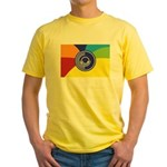 Occupy Wall Street Flag Yellow T-Shirt