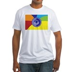 Occupy Wall Street Flag Fitted T-Shirt