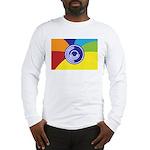 Occupy Wall Street Flag Long Sleeve T-Shirt