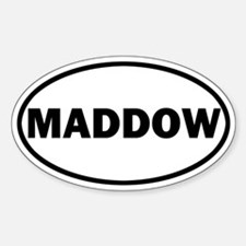 Rachel Maddow Sticker (Oval)
