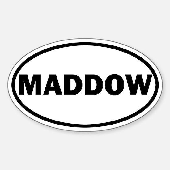 Rachel Maddow Sticker (Oval)