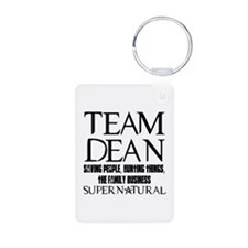 Team Dean Supernatural Winchester Aluminum Photo K