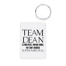Team Dean Supernatural Winchester Keychains