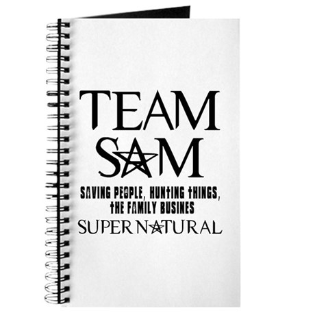 Team Sam Supernatural Journal