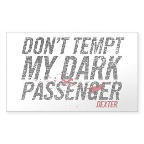 Dark Passenger Sticker (Rectangle)