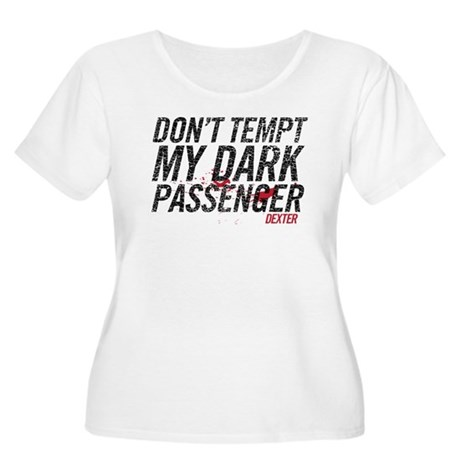 Dark Passenger Women's Plus Size Scoop Neck T-Shir