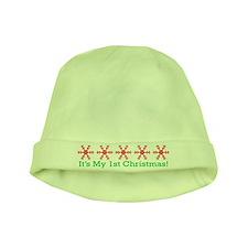 Christmas Snowflake Baby Hat