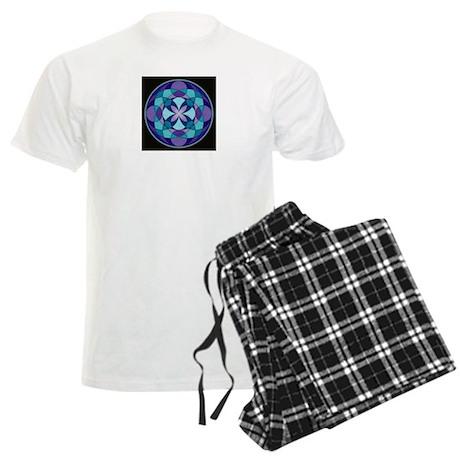 Kaleidoscope Mandala Men's Light Pajamas