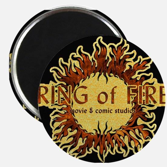 Sun Fire BLACK logo Magnet