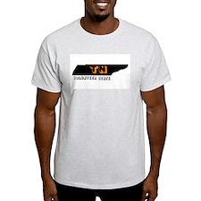 TN VOLUNTEER STATE Ash Grey T-Shirt