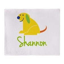 Shannon Loves Puppies Throw Blanket